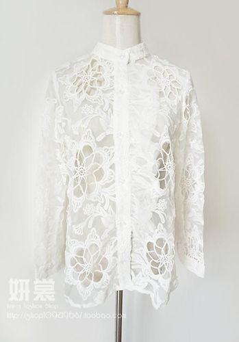 Изображение шифоновая блуза