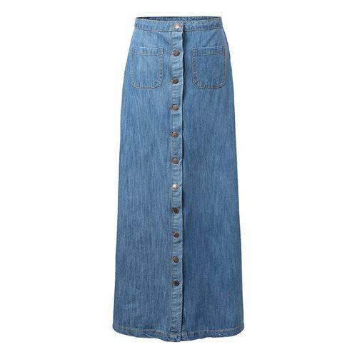 Изображение джинсовая юбка