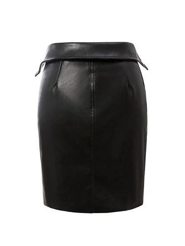 Изображение юбка из кожзама