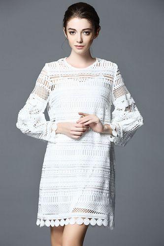 Изображение кружевное платье