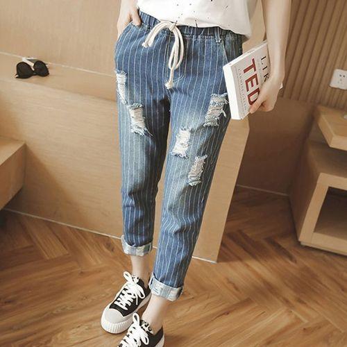 Изображение джинсы  батального размера
