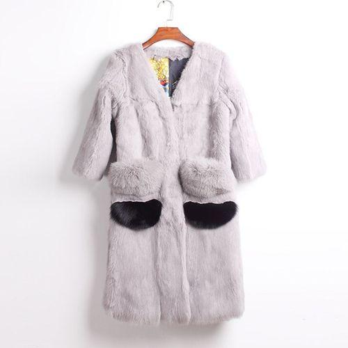 Изображение Модная шуба из кролика
