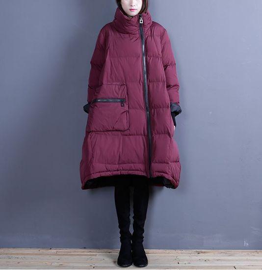 Изображение Экстравагантное молодежное пальто на халафайбере