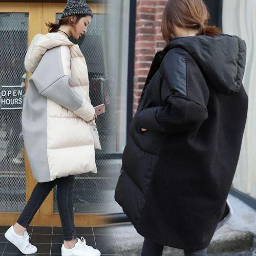 Изображение Стильное  молодежное пальто  OVERSIZE  на халафайбере